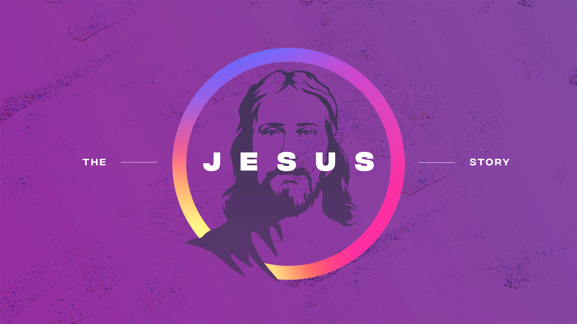The JESUS Story: A Sinner Stands, A Savior Stoops